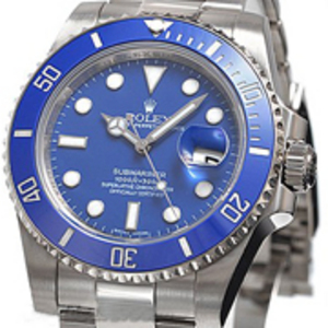 Replica Submariner Oyster Perpetual Date Blå Watch 116619